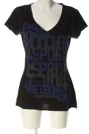 Esprit Sports Print-Shirt Schriftzug gedruckt Casual-Look