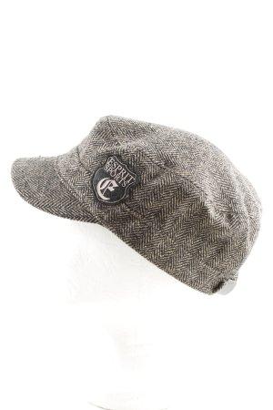 Esprit Sports Cappello con visiera nero-bianco sporco stampa integrale