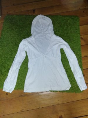 Esprit Hooded Shirt white