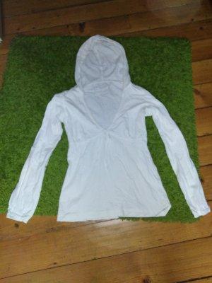 Esprit Camicia con cappuccio bianco