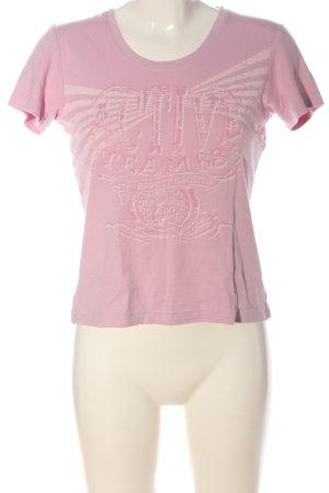 Esprit Sports T-Shirt pink Motivdruck Casual-Look