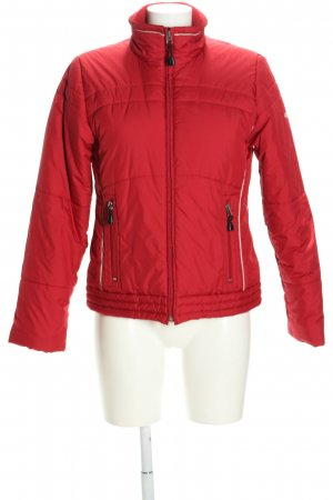 Esprit Sports Übergangsjacke rot Steppmuster Casual-Look