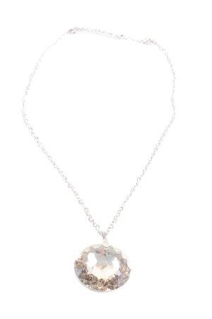 Esprit Statement Necklace silver-colored elegant