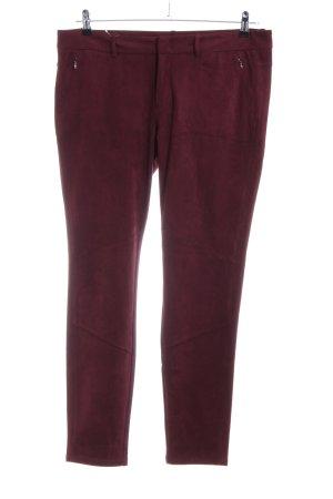 Esprit Pantalone sfoderato rosso stile casual