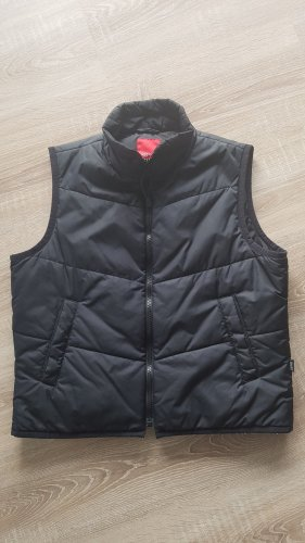 Esprit Quilted Gilet dark blue