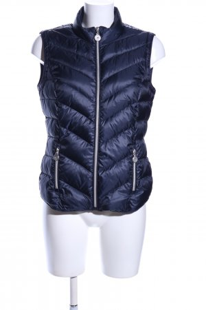Esprit Quilted Gilet blue casual look