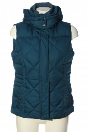 Esprit Quilted Gilet blue quilting pattern casual look