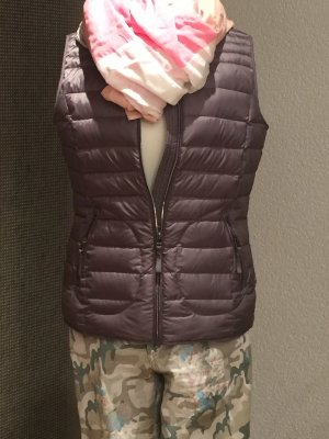 Esprit Quilted Gilet silver-colored-grey