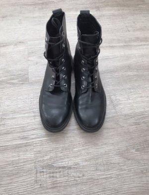Esprit Booties black leather