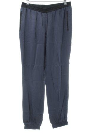 Esprit Stiefelhose schwarz-dunkelblau Casual-Look