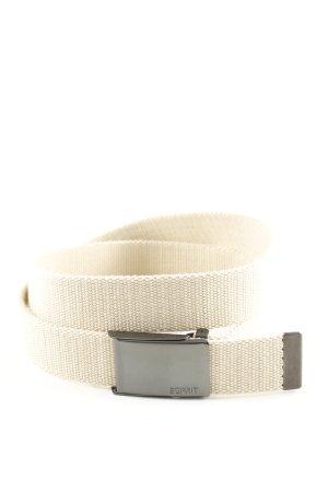 Esprit Fabric Belt natural white casual look