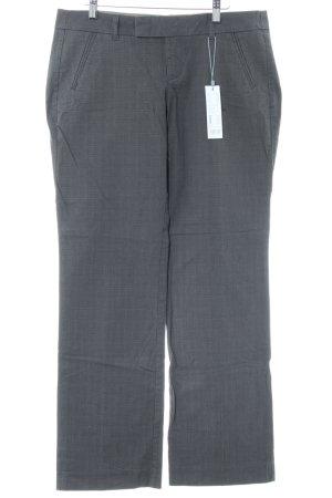 Esprit Jersey Pants light grey check pattern business style