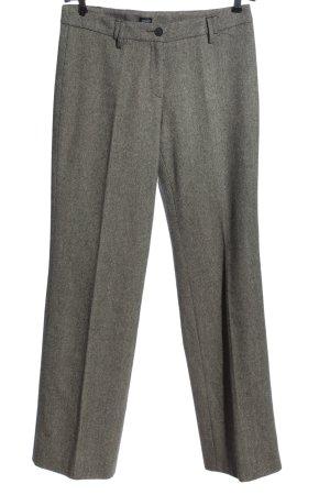 Esprit Pantalon en jersey gris clair moucheté style d'affaires