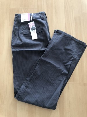 Esprit Pantalone a vita bassa antracite
