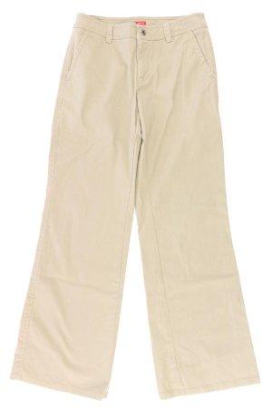 Esprit Stoffhose Größe 34 braun aus Baumwolle