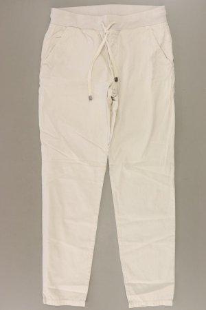 Esprit Stoffhose Größe 34 creme aus Baumwolle