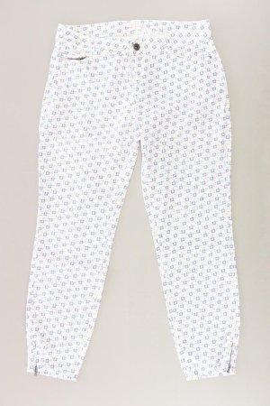Esprit Stoffhose Größe 38 weiß aus Baumwolle