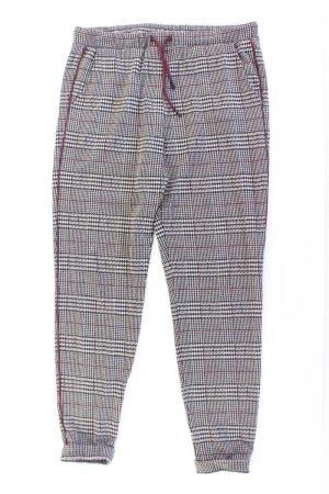 Esprit Stoffhose Größe S kariert grau aus Polyester