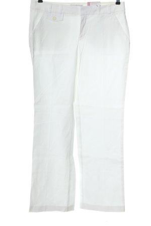 Esprit Spodnie materiałowe biały W stylu casual