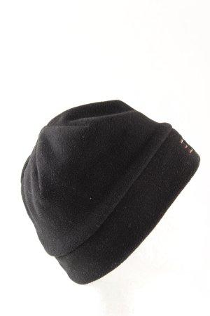Esprit Cappello in tessuto nero caratteri ricamati stile casual