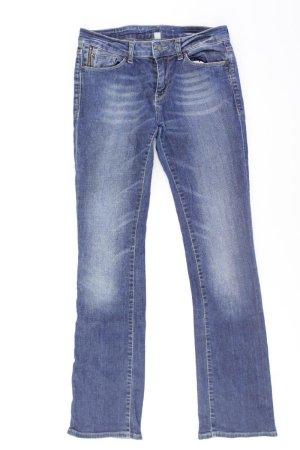 Esprit Straight Jeans Größe 34 blau aus Baumwolle