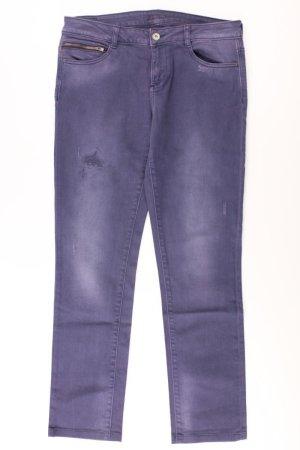 Esprit Straight Jeans Größe 38 lila aus Baumwolle
