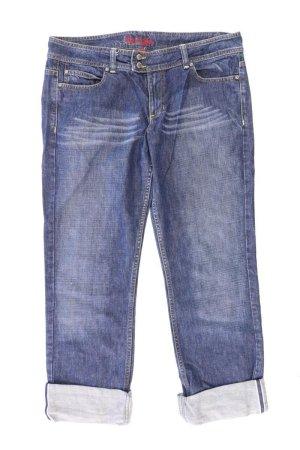 Esprit Straight Jeans Größe 42 blau aus Baumwolle