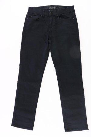 Esprit Straight Jeans Größe W26/L32 schwarz aus Baumwolle
