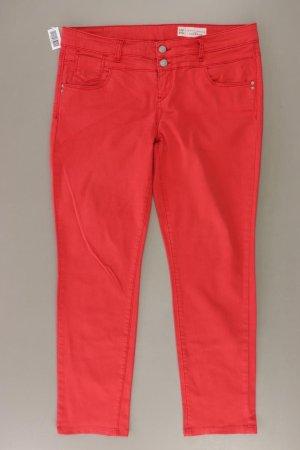 Esprit Straight Jeans Größe W30/L32 rot aus Baumwolle