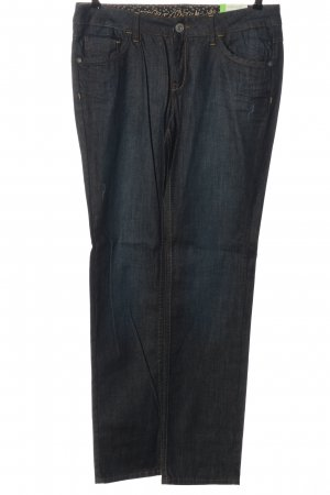 Esprit Jeansy z prostymi nogawkami niebieski Melanżowy W stylu casual