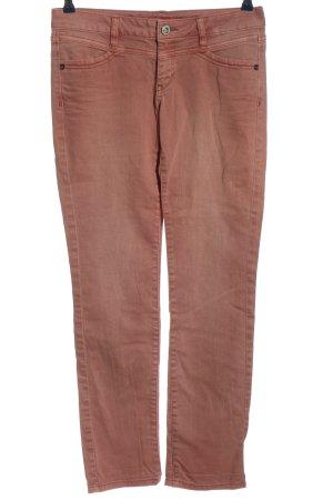 Esprit Jeansy z prostymi nogawkami brązowy W stylu casual