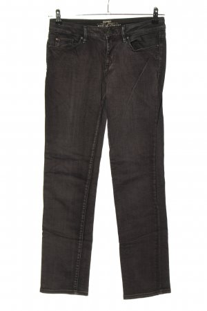 Esprit Straight-Leg Jeans braun Street-Fashion-Look