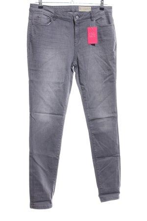 Esprit Straight-Leg Jeans hellgrau Casual-Look