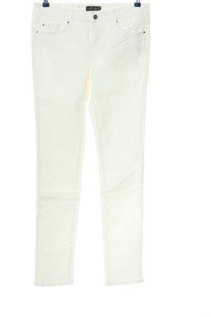 Esprit Jeansy z prostymi nogawkami biały W stylu casual