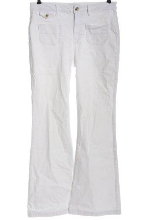 Esprit Vaquero de corte bota blanco look casual