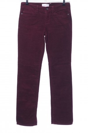 Esprit Straight-Leg Jeans rot Casual-Look