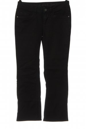 Esprit Boot Cut Jeans schwarz Casual-Look