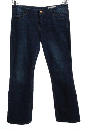 Esprit Jeans a gamba dritta blu stile casual