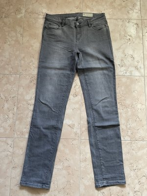 Esprit Jeansy z prostymi nogawkami szary