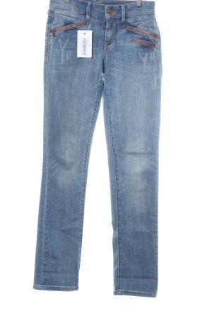 Esprit Jeansy z prostymi nogawkami chabrowy W stylu casual