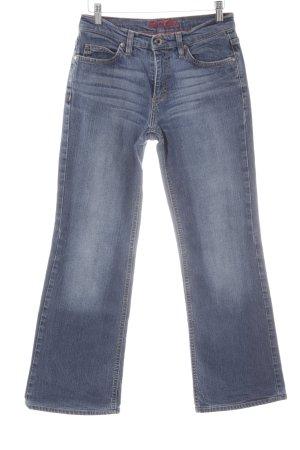 Esprit Straight-Leg Jeans kornblumenblau Jeans-Optik