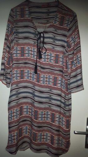 Esprit Strandkleid Ethno indianisch Gr36/38