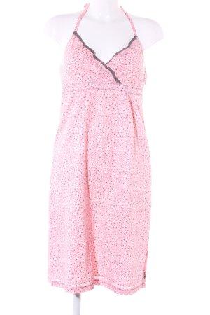 Esprit Strandjurk roze-lichtgrijs volledige print elegant