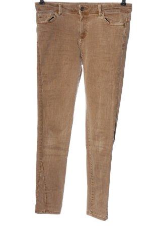 Esprit Stretch Jeans braun Casual-Look