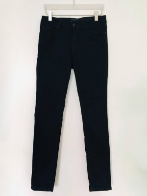Esprit Pantalon strech bleu foncé tissu mixte