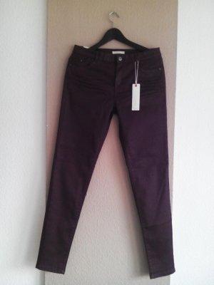 Esprit stretch Skinny Jeans in dunkellila, Special item, Größe 38 neu