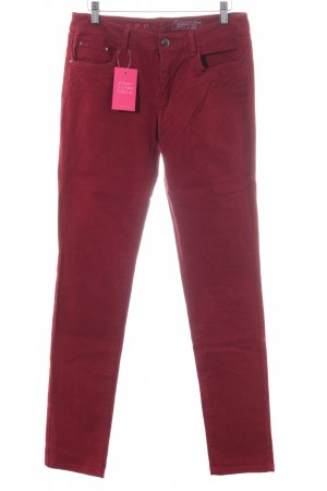 Esprit Stretchhose rot Casual-Look
