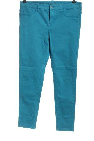 Esprit Stretchhose blau Casual-Look