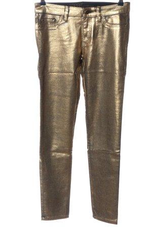 Esprit Stretchhose goldfarben Casual-Look