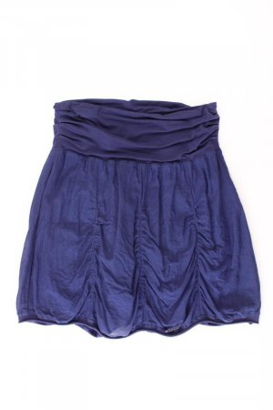 Esprit Stretch Skirt blue-neon blue-dark blue-azure cotton
